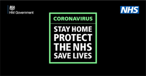 Coronavirus Stay home, protect the NHS, save lives