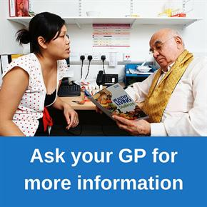 Ask your gp today