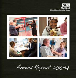 Front page annual report